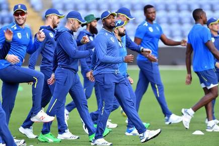 South African players return to training post COVID-19 break | AFP