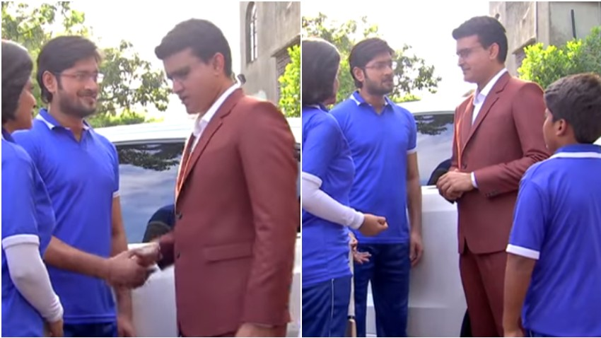 WATCH: Sourav Ganguly makes his acting debut; appears in a cameo for Bengali serial
