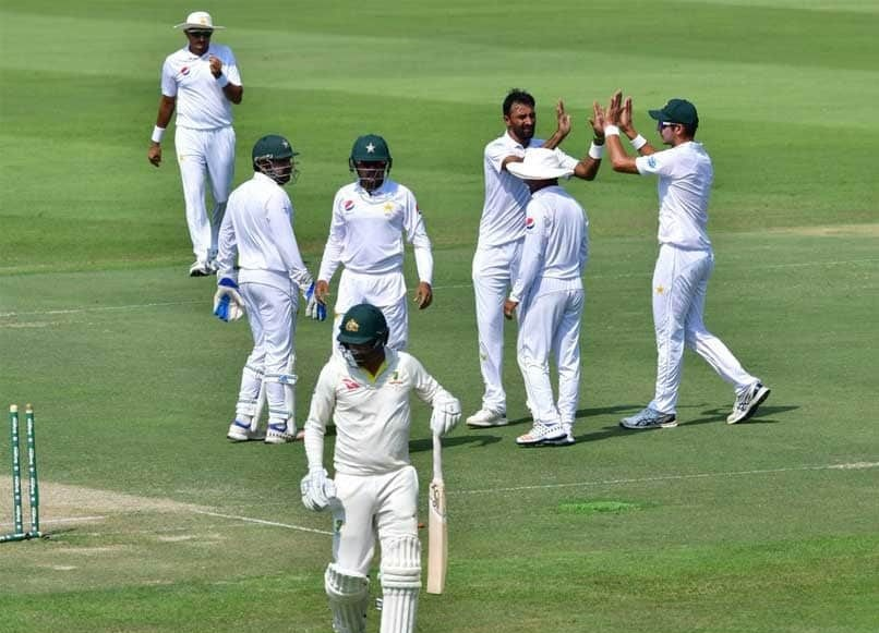 Australia bowled out for merely 145 at Abu Dhabi | ICC Twitter