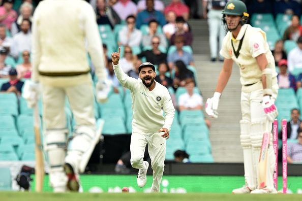 Australia struggled with the bat throughout the Test series   Getty