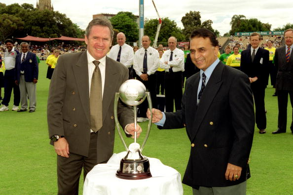 Ever since it was named so in 1998, the Border-Gavaskar Trophy has been given away by the two legends together