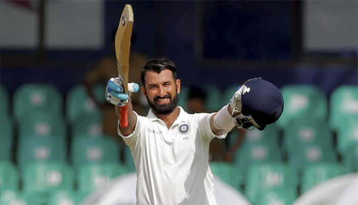 Pujara has been a profilic run getter at home and in Sri Lanka, not the same overseas. (AFP)