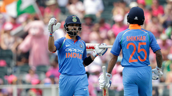 IND v WI 2018: Shikhar Dhawan in awe of Virat Kohli's determination and willpower