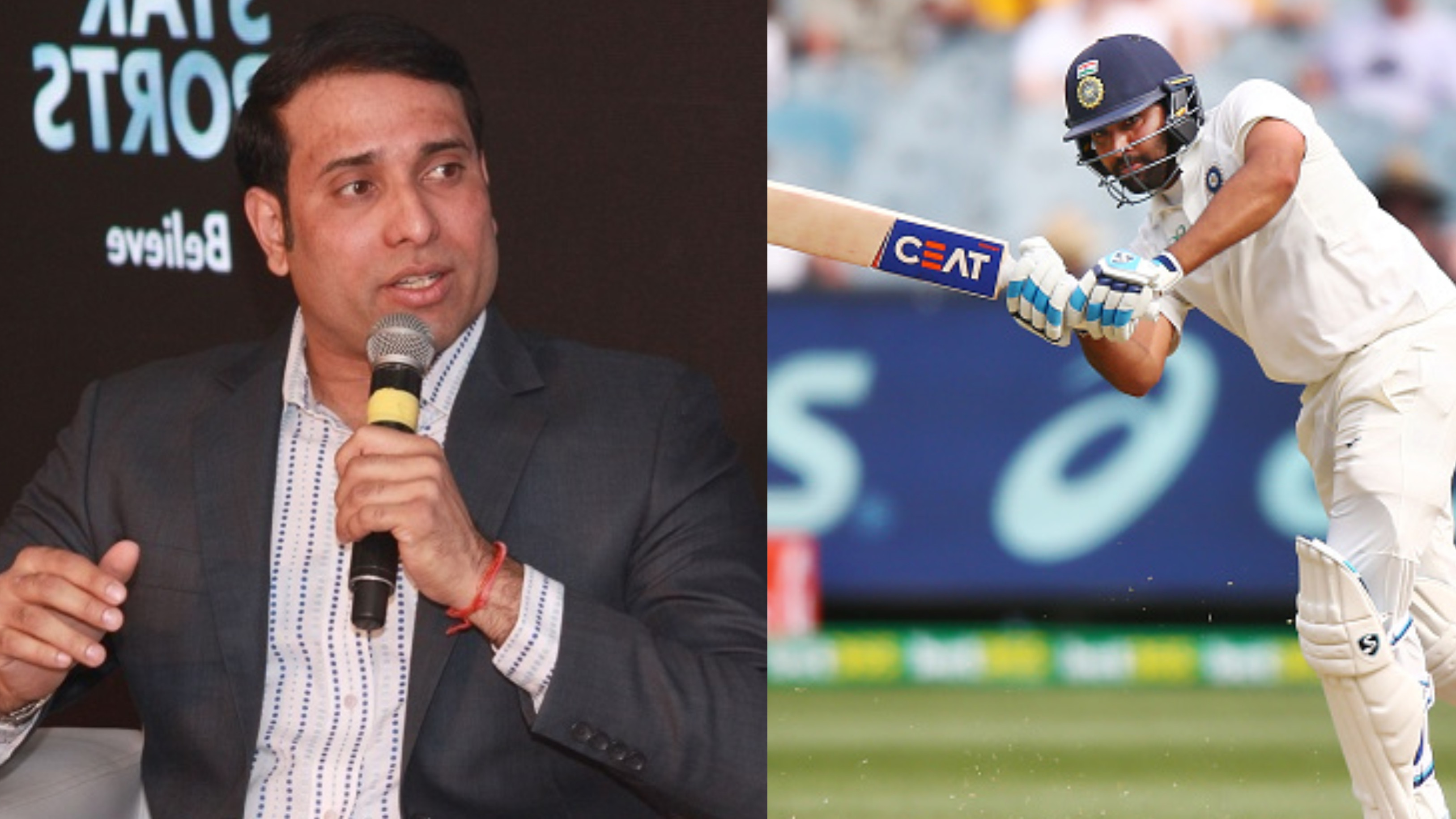AUS v IND 2018-19: VVS Laxman feels Rohit Sharma got better after Siddle dropped his catch