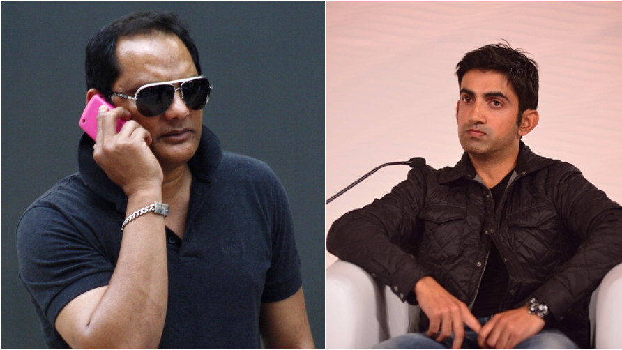 Mohammad Azharuddin gets support from Twitter after Gautam Gambhir targetted him