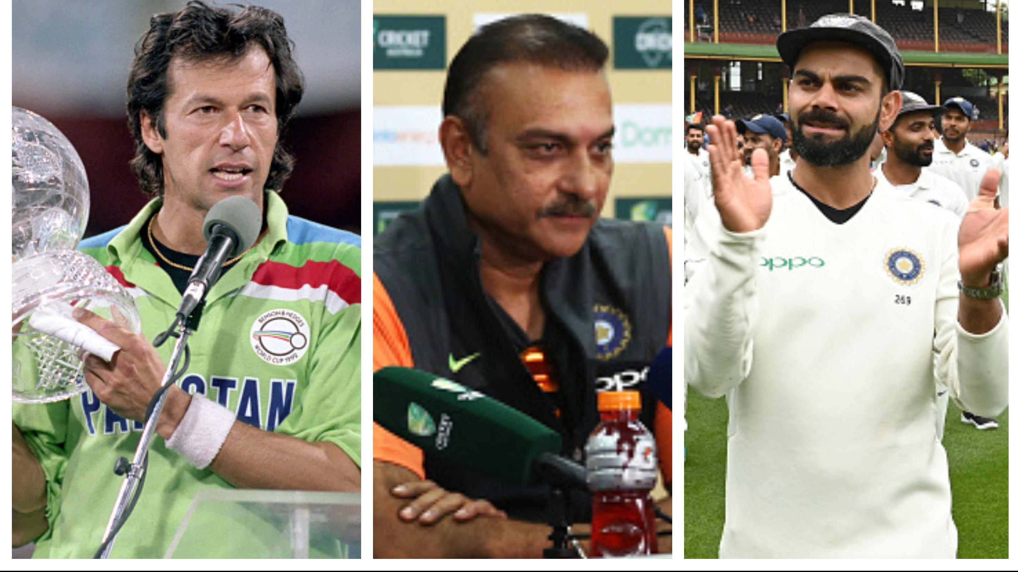 Ravi Shastri draws comparison between Virat Kohli and Imran Khan
