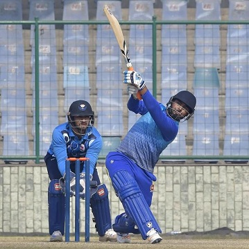 Rishabh Pant in action during his 32 ball century | Sportstar