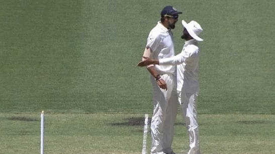 AUS v IND 2018-19: WATCH – Ishant Sharma, Ravindra Jadeja indulge in verbal spat during the Perth Test