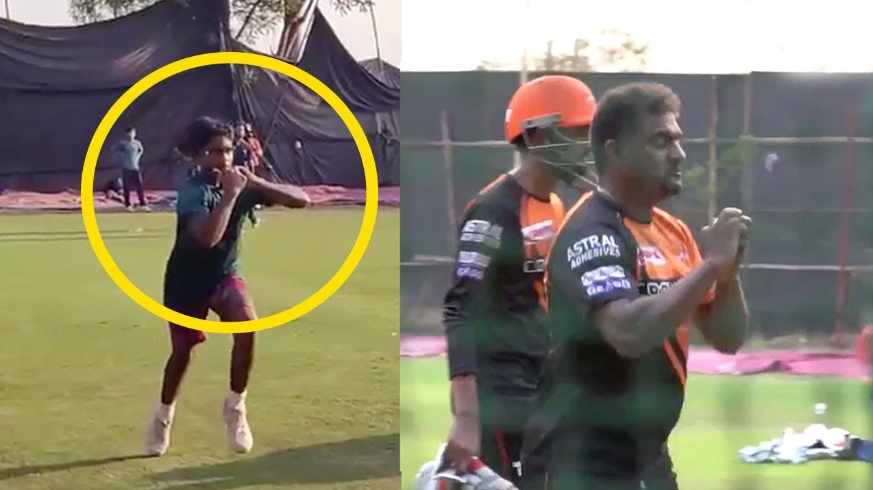 WATCH: Muttiah Muralitharan shares video of son Naren who bowls with a similar action as him