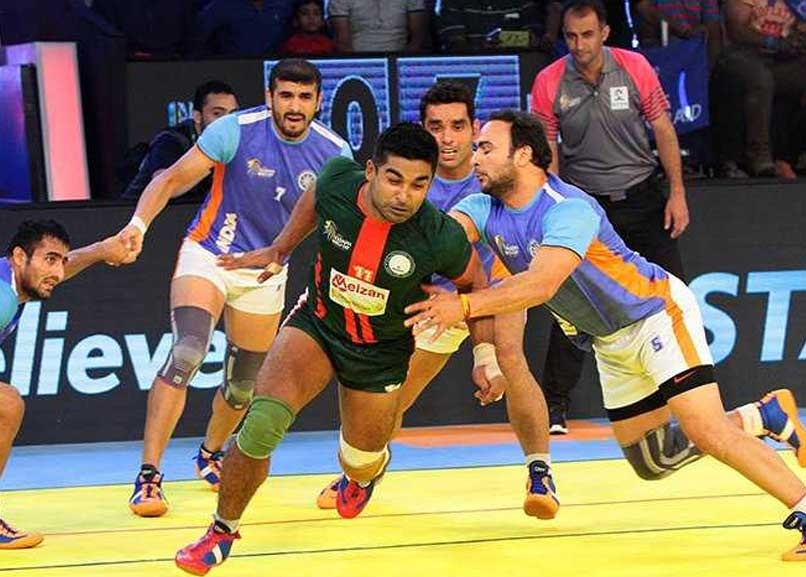 Indian Kabaddi team | Twitter