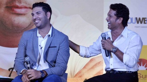 Sachin Tendulkar thanks Yuvraj Singh for everything he has done for Cricket