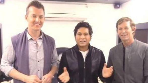 सचिन तेंदुलकर, ब्रेट ली और जॉन्टी रोड्स ने एक साथ मनाया दिवाली का जश्न