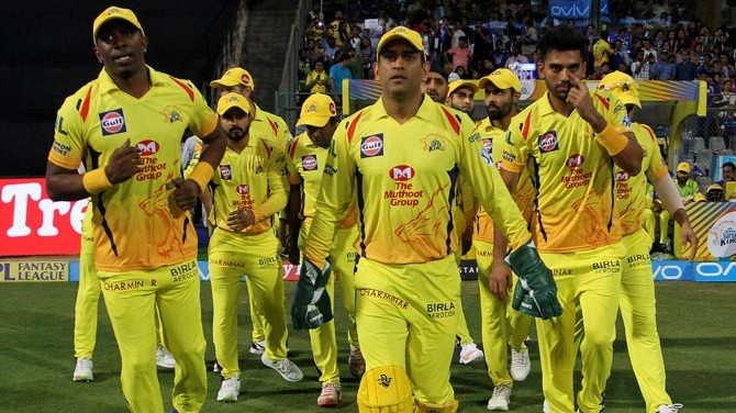 Chennai Super Kings Twitter handle gives a hilarious reply to a fan's query