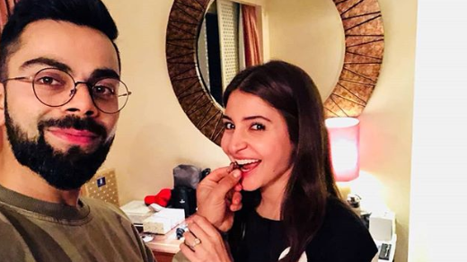 Virat Kohli and Anushka Sharma dominate social media; gets most number of likes