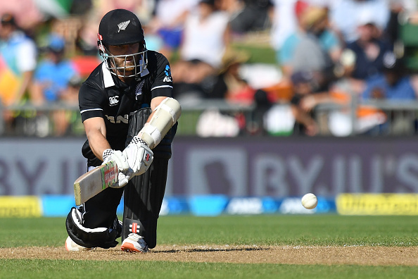 Kane Williamson stroked a brilliant fifty to save his team | Getty