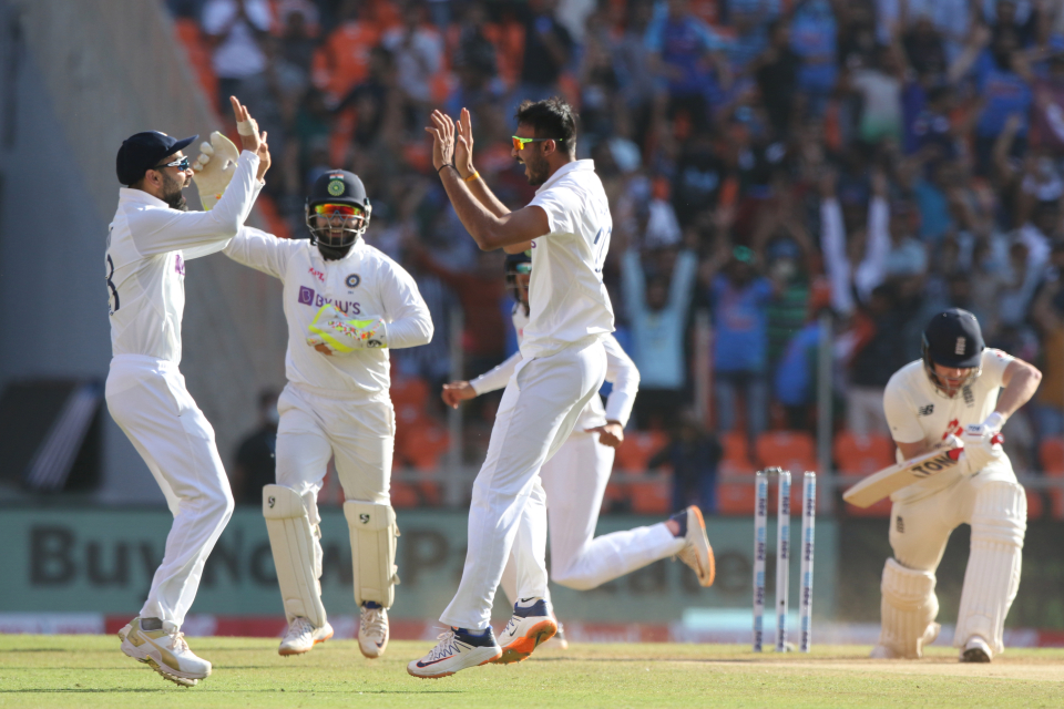 Fans were allowed in Ahmedabad for India-England Tests | AFP