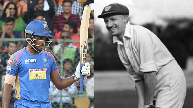 IPL 2018: Ben Laughlin compares Sanju Samson with Sir Don Bradman