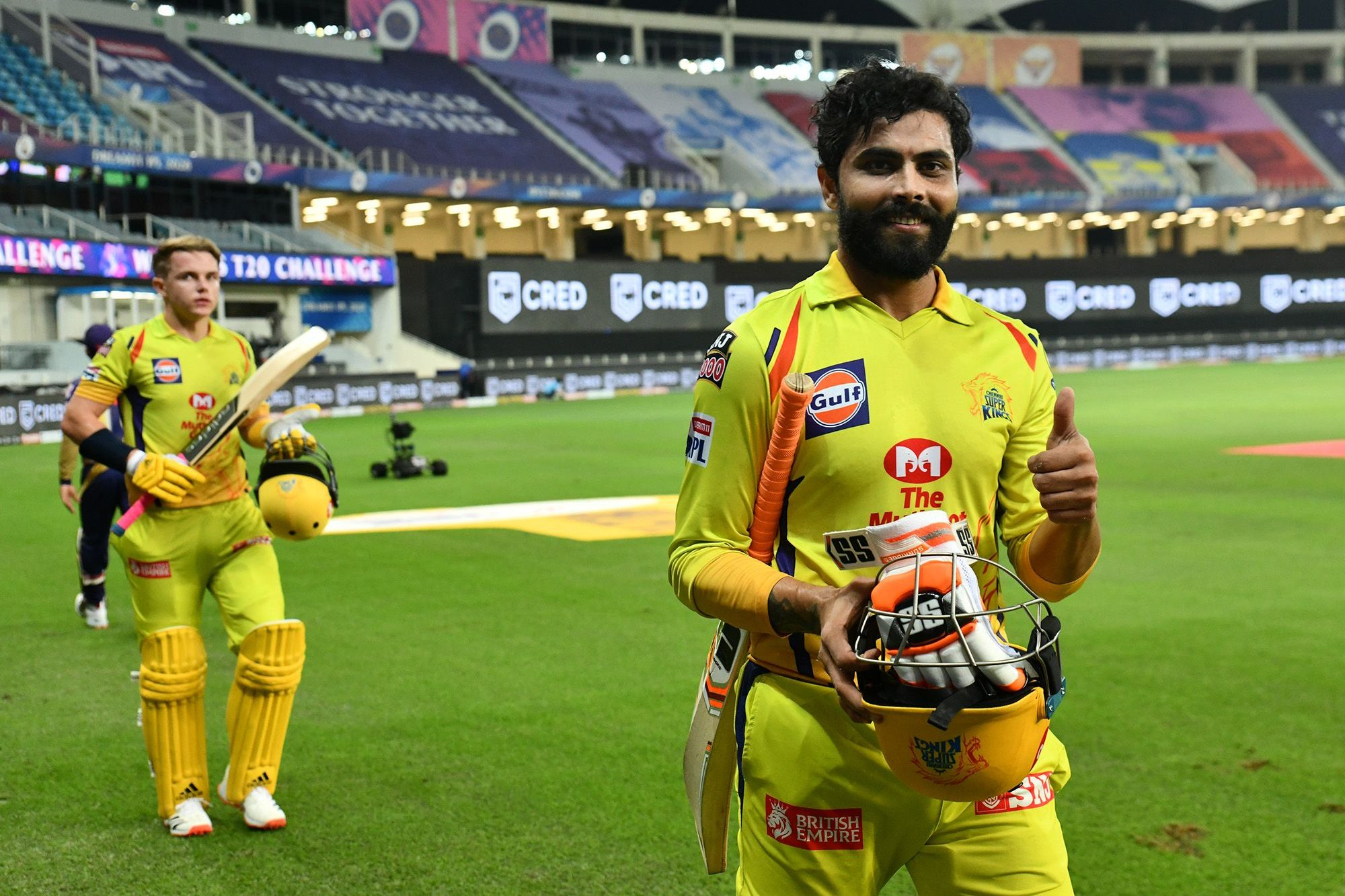 Ravindra Jadeja and Sam Curran- two stars for CSK this IPL 13 season | BCCI/IPL