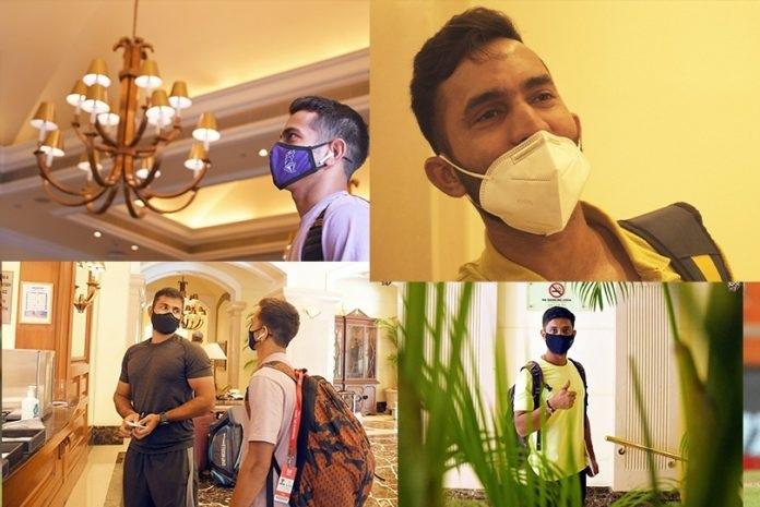 KKR players have begun the mandatory quarantine   Instagram