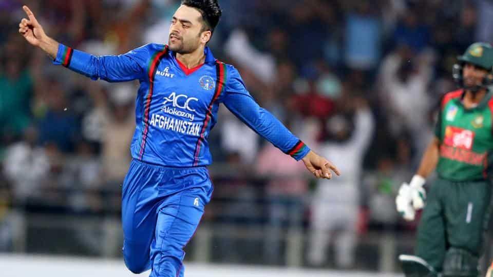 Rashid Khan tops the T20I bowling rankings