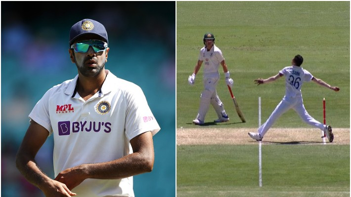 AUS v IND 2020-21: Twitterati miss Ashwin after Labuschagne leaves crease early at non-striker end