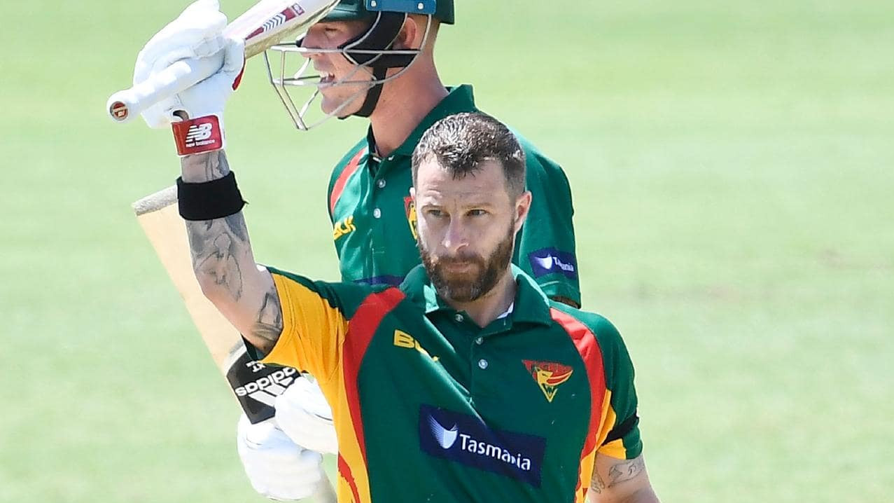 Matthew Wade aiming to make it to the Australian squad for WC 2019