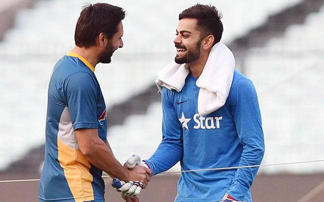 Shahid Afridi opens up about his cordial relation with Virat Kohli