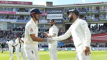Alastair Cook ends career with a top ten rankings finish; Virat remains no.1 Test batsman