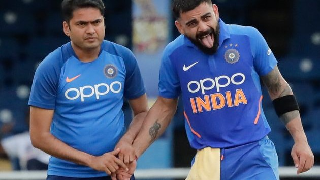 WI v IND 2019: Virat Kohli gives an update on his thumb injury