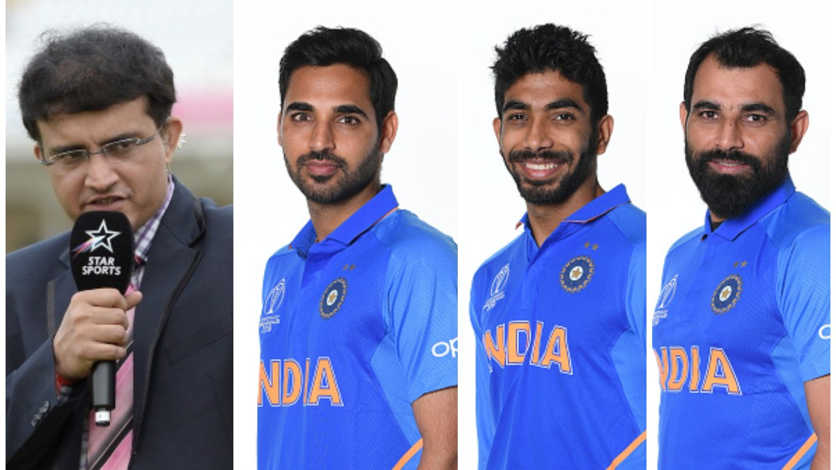 CWC 2019: Sourav Ganguly reveals his choice of new ball bowlers for Team India