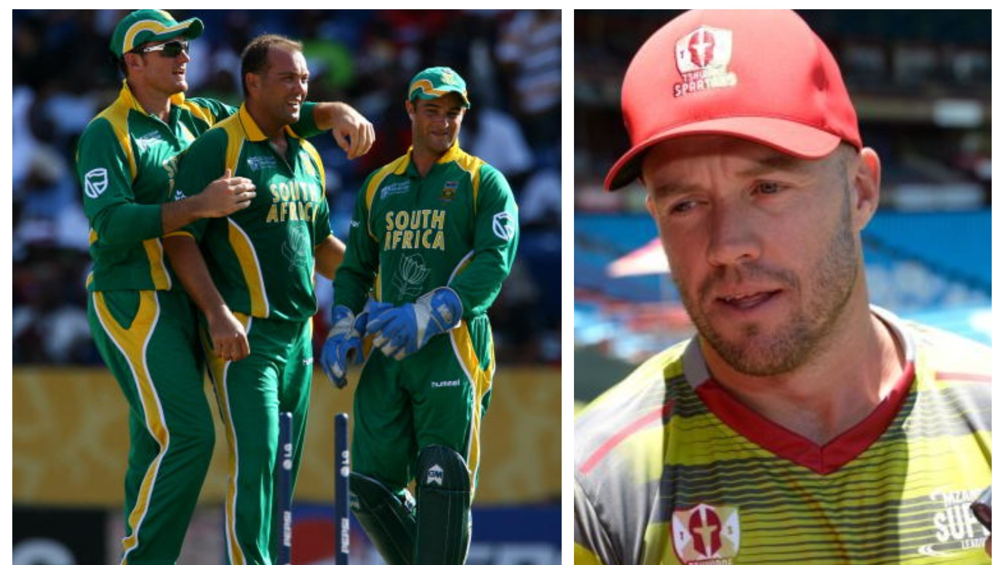 AB de Villiers wants South Africa to exploit the vast experience of Kallis' Boucher and Smith