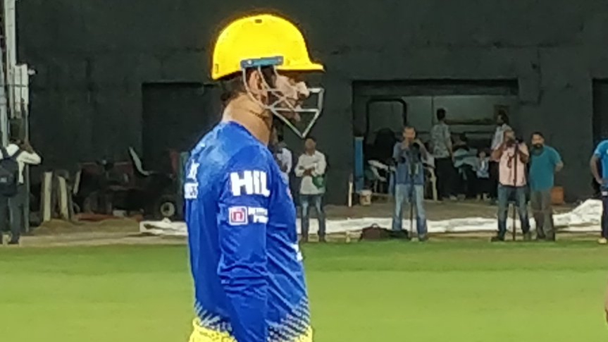 IPL 2018: Watch- MS Dhoni gets into the groove ahead of IPL 11