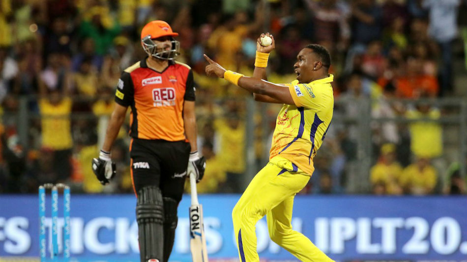 IPL 2018: Watch: Dwayne Bravo's athletic catch to dismiss Yusuf Pathan in the first qualifier