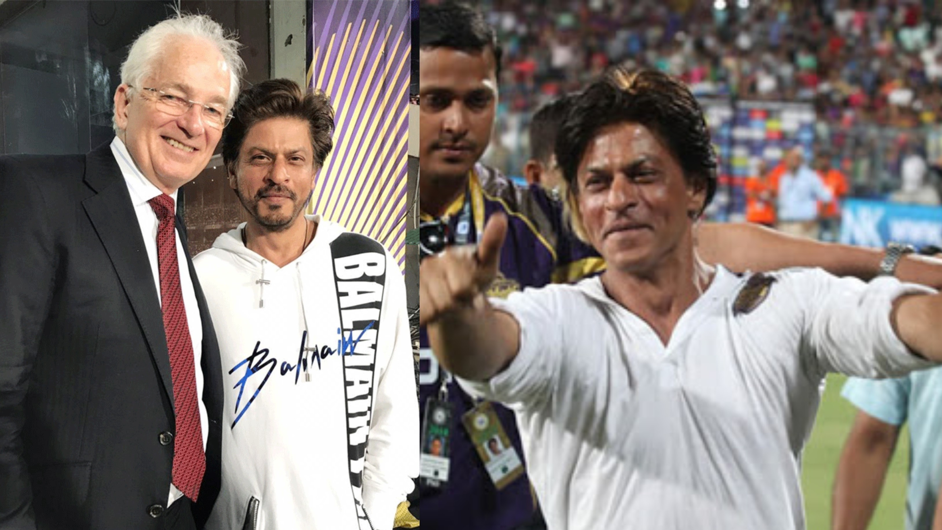 David Gower lauds Shah Rukh Khan for being very passionate about Kolkata Knight Riders