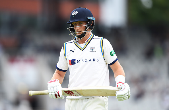 Joe Root got out cheaply in the both the innings of Yorkshire against Lancashire | Getty