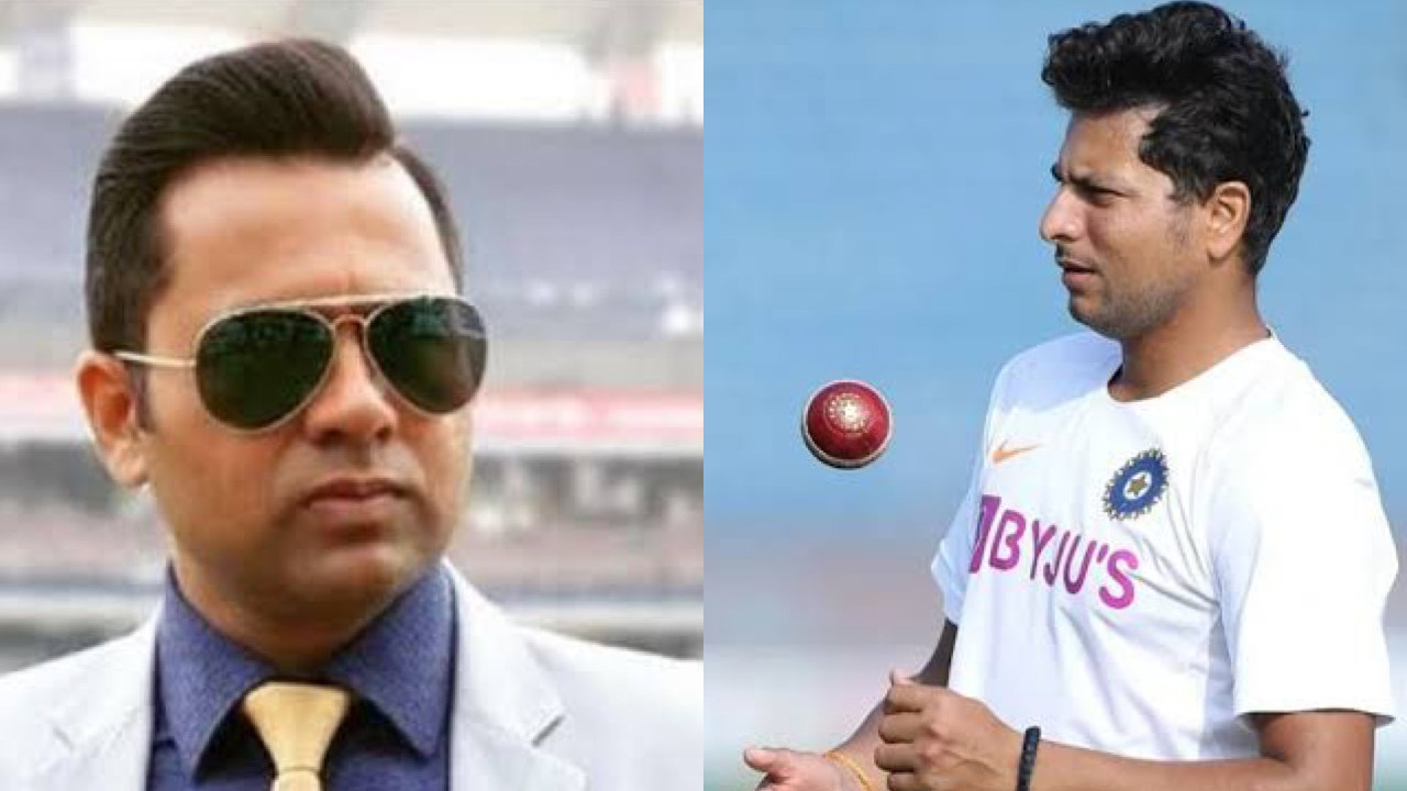 Aakash Chopra says Kuldeep Yadav's exclusion from the Indian squad a 'little harsh'