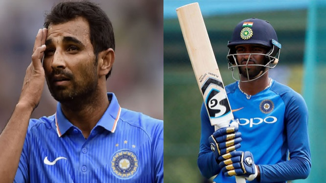 Hardik Pandya hopes to see Mohammed Shami on the field soon