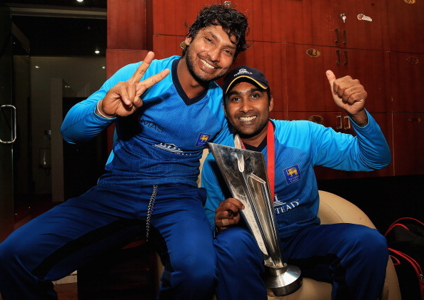 A fitting farewell for the combo of Sangakkara and Jayawardene in T20Is | Getty