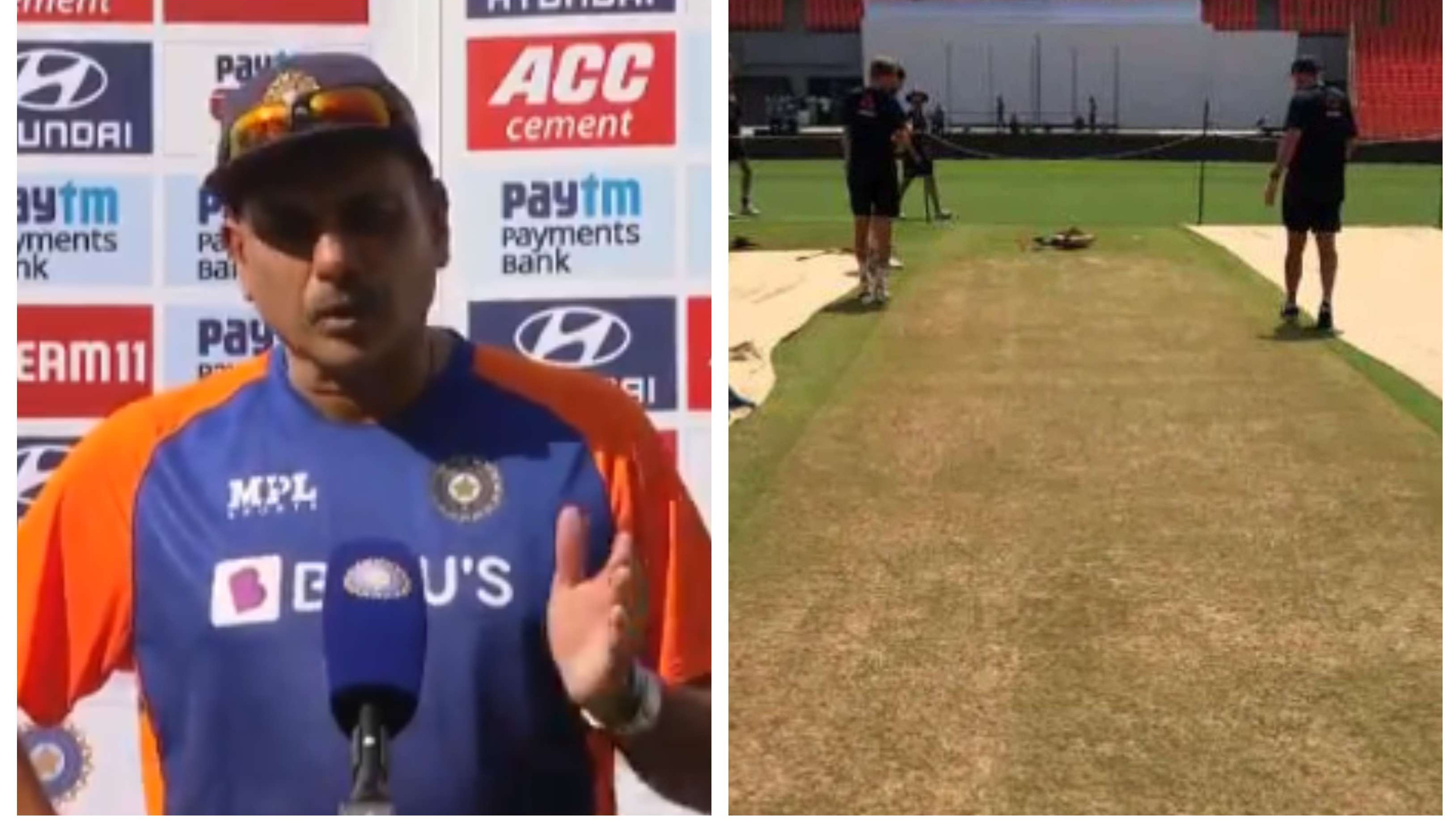 IND v ENG 2021: Shastri hails Motera curator for preparing pitches that provided