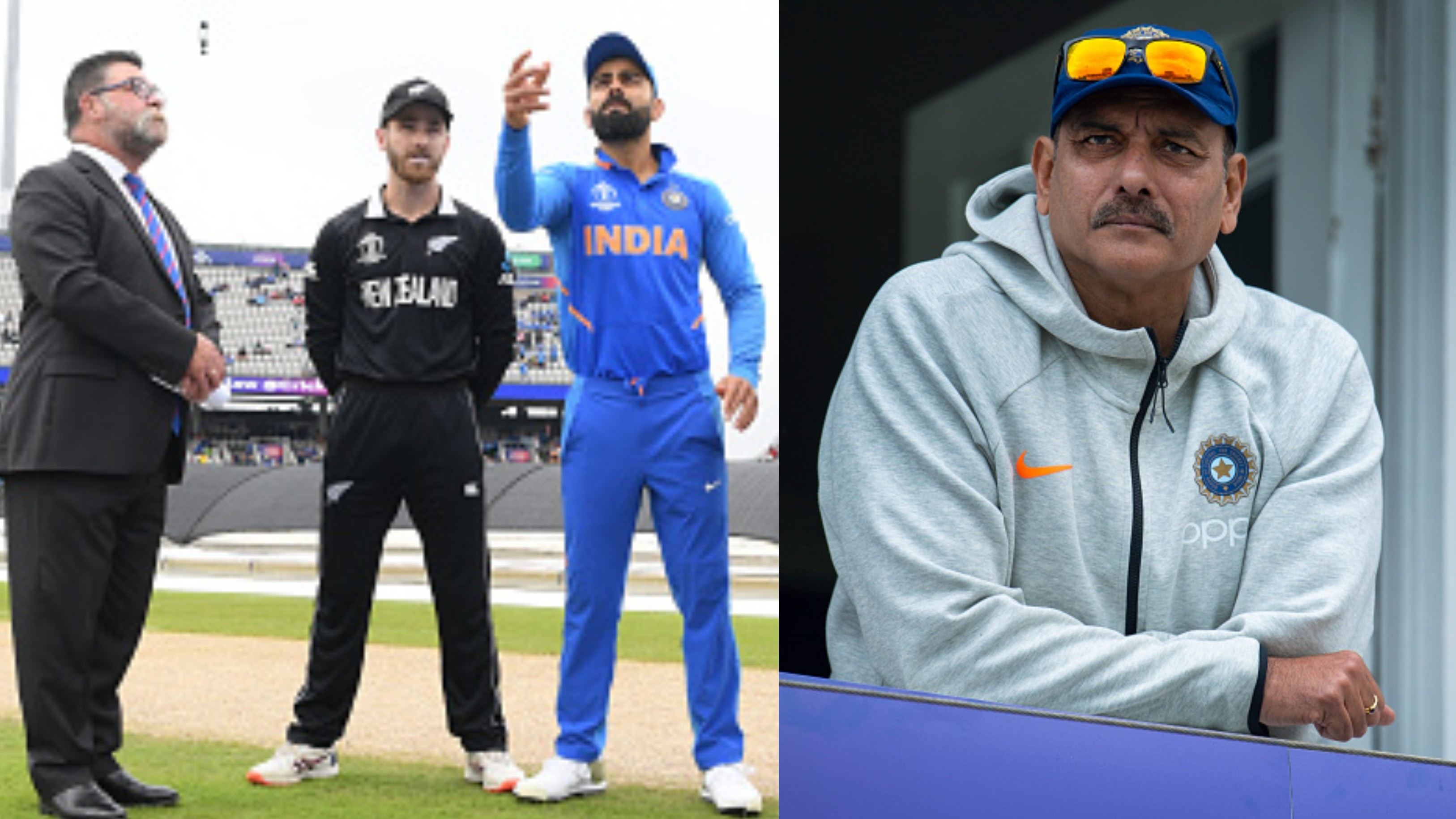 CWC 2019: Taking semi-final against New Zealand as just another game, says India coach Ravi Shastri