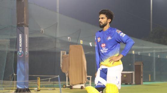 IPL 2020: Ruturaj Gaikwad resumes training after successive COVID-19 negative tests