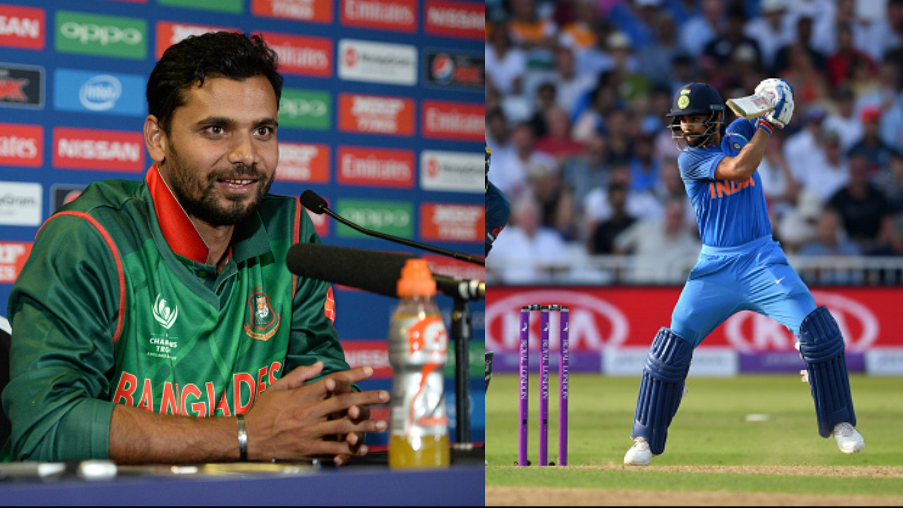 Asia Cup 2018: Virat Kohli's absence is an advantage for every team, says Mashrafe Mortaza