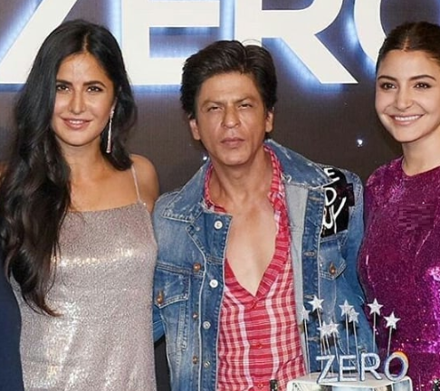 Katrina Kaif, Shah Rukh Khan and Anushka Sharma | Instagram