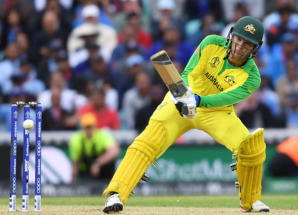 Alex Carey made the fastest fifty by an Australian in World Cup | Getty