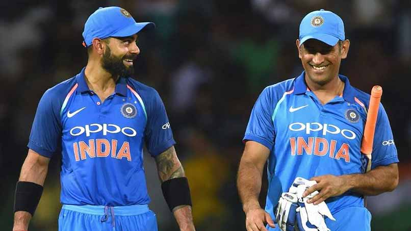 "Virat Kohli says, ""MS Dhoni and I have a lovely equation"""