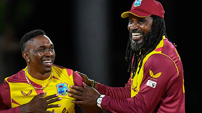 Dwayne Bravo backs Chris Gayle to realize his aim of ending his career with 3rd T20 World Cup title