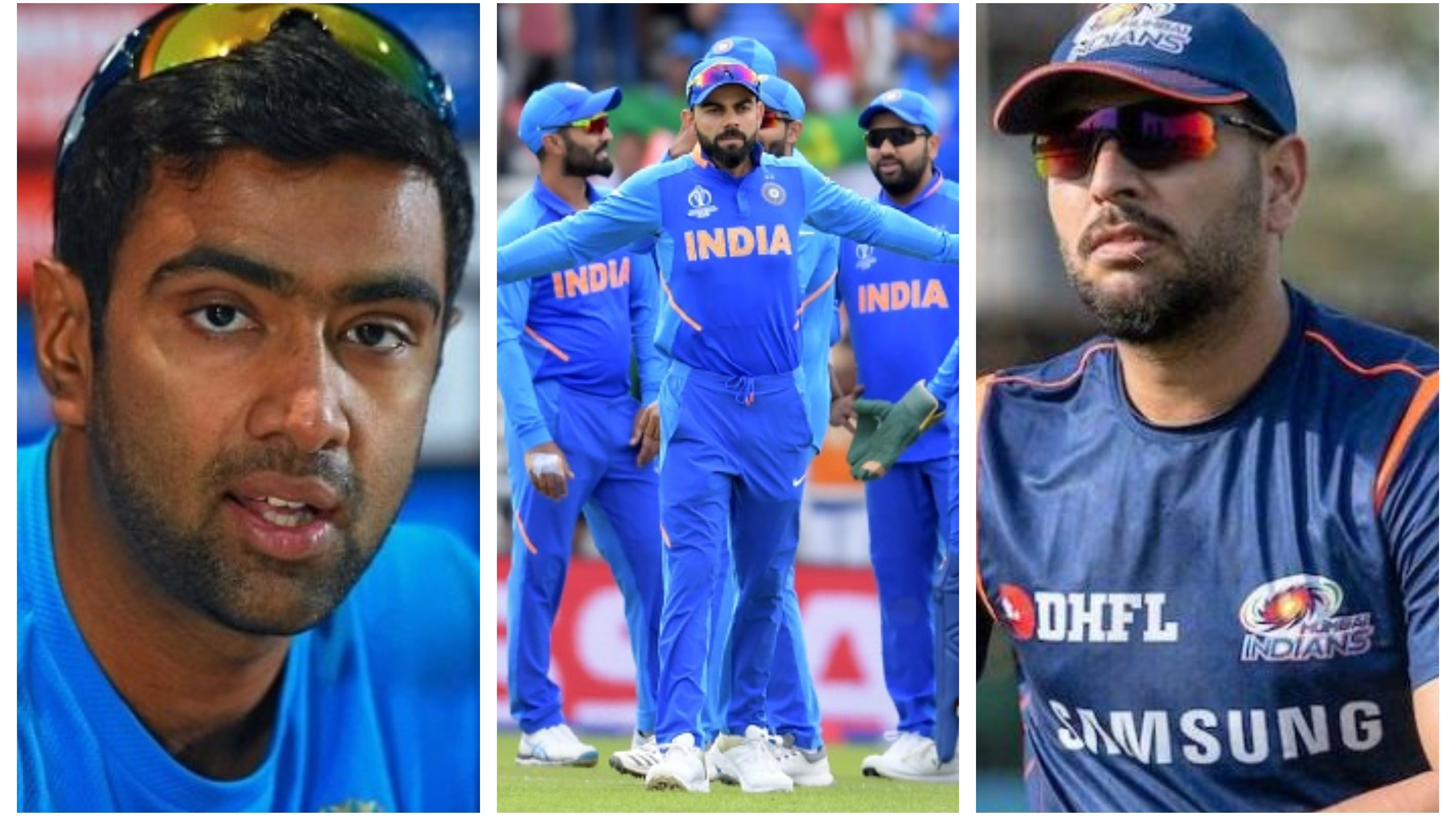 CWC 2019: Indian cricket fraternity sends positive vibes for Virat Kohli and company ahead of the semifinal