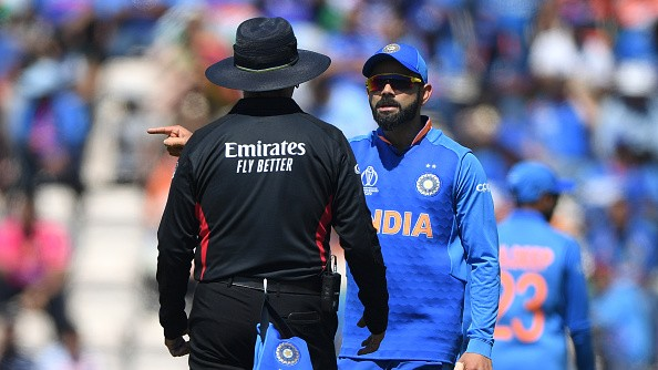 CWC 2019: Virat Kohli fined 25% of match fees; gets one demerit point after Afghanistan match