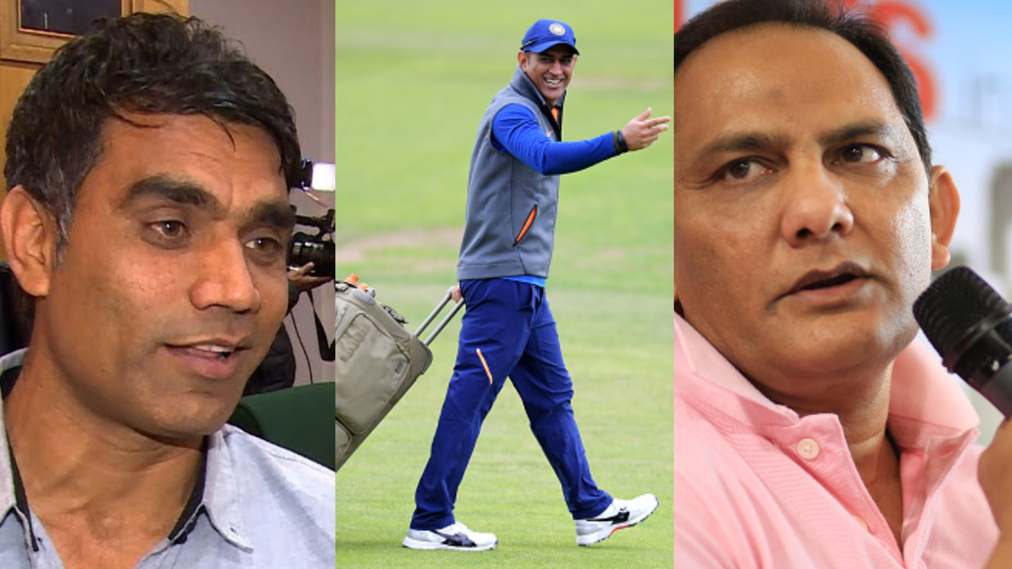 Munaf Patel and Mohammad Azharuddin have their say on MS Dhoni's retirement speculations