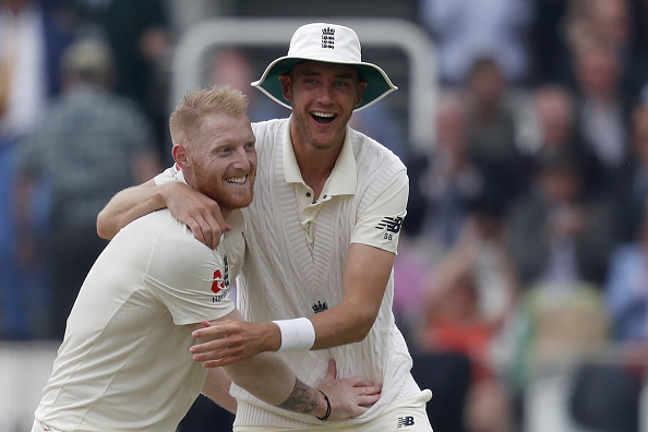 Stuart Broad and Ben Stokes | GETTY